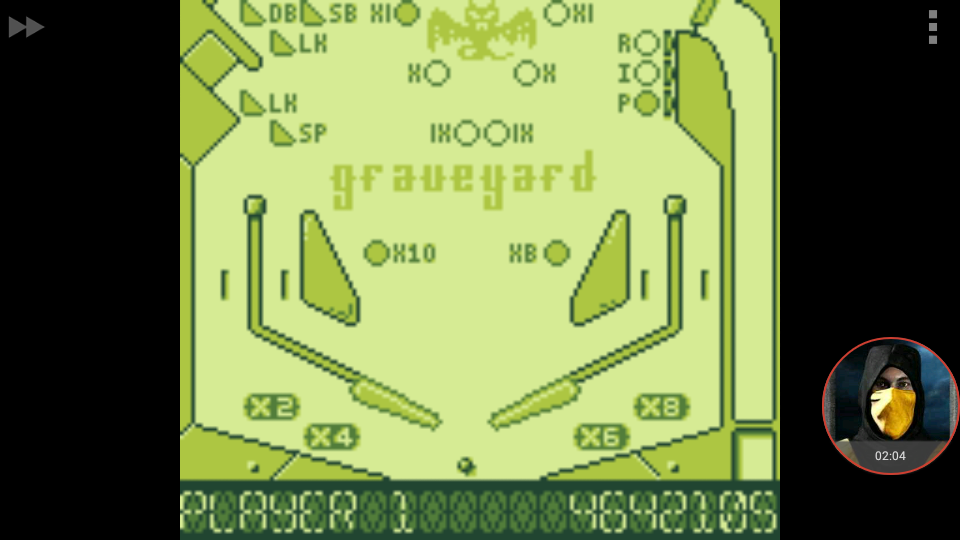 omargeddon: Pinball Dreams: Graveyard (Game Boy Emulated) 4,642,105 points on 2018-01-08 23:35:12