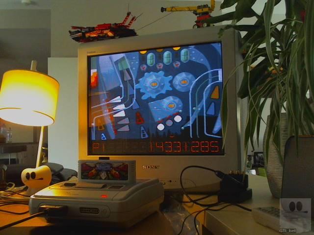 GTibel: Pinball Dreams: Nightmare (SNES/Super Famicom) 14,331,285 points on 2019-08-06 10:46:49