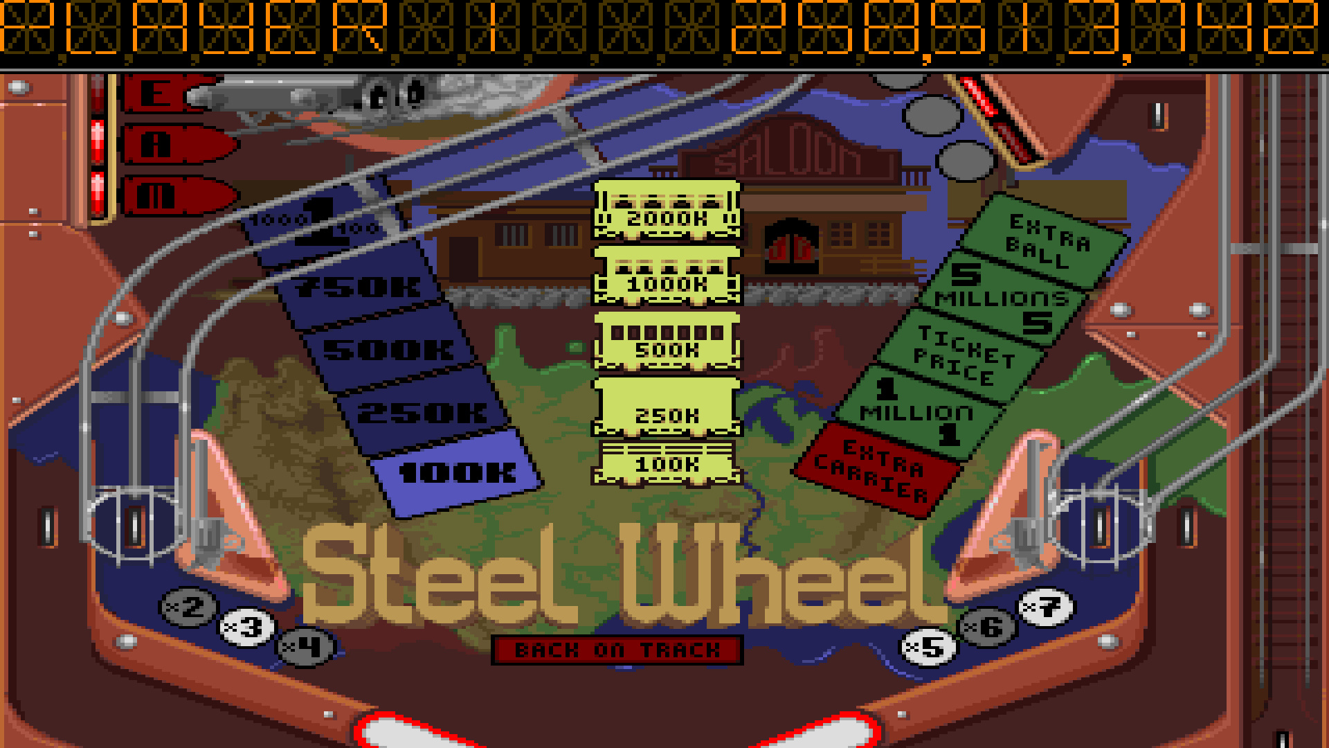 TheTrickster: Pinball Dreams: Steel Wheel (Amiga Emulated) 258,513,742 points on 2016-10-22 03:04:16