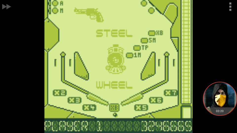 omargeddon: Pinball Dreams: Steel Wheel (Game Boy Emulated) 3,246,665 points on 2018-01-08 23:29:53