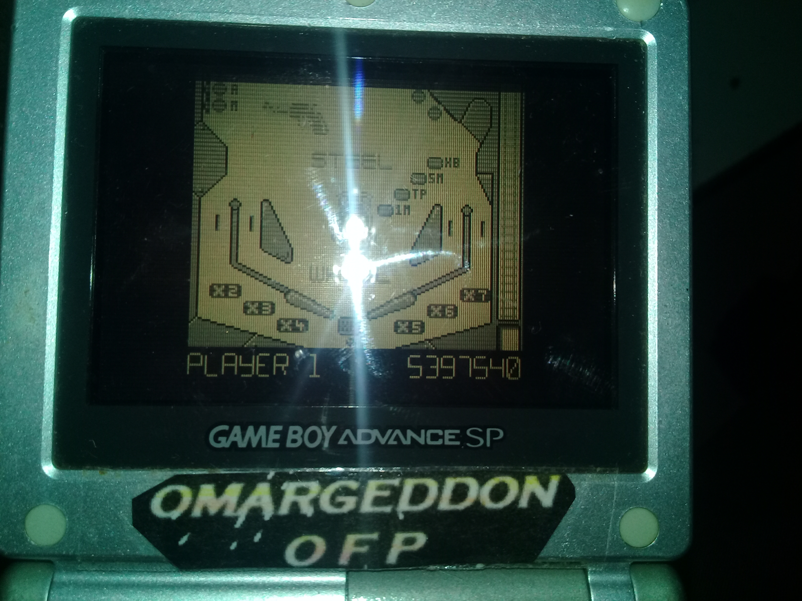 omargeddon: Pinball Dreams: Steel Wheel (Game Boy) 5,397,540 points on 2018-12-01 18:16:35