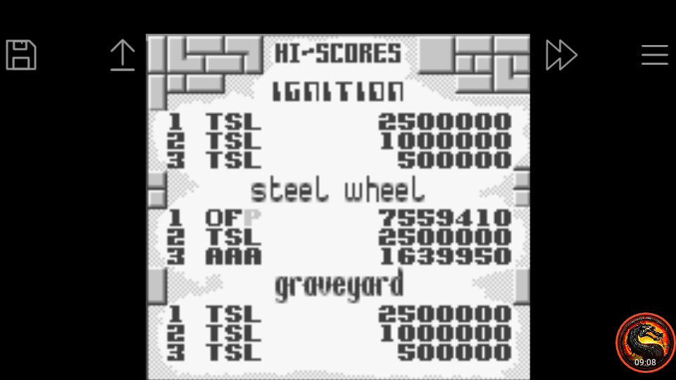 omargeddon: Pinball Dreams: Steel Wheel (Game Boy Emulated) 7,559,410 points on 2020-06-05 23:07:38
