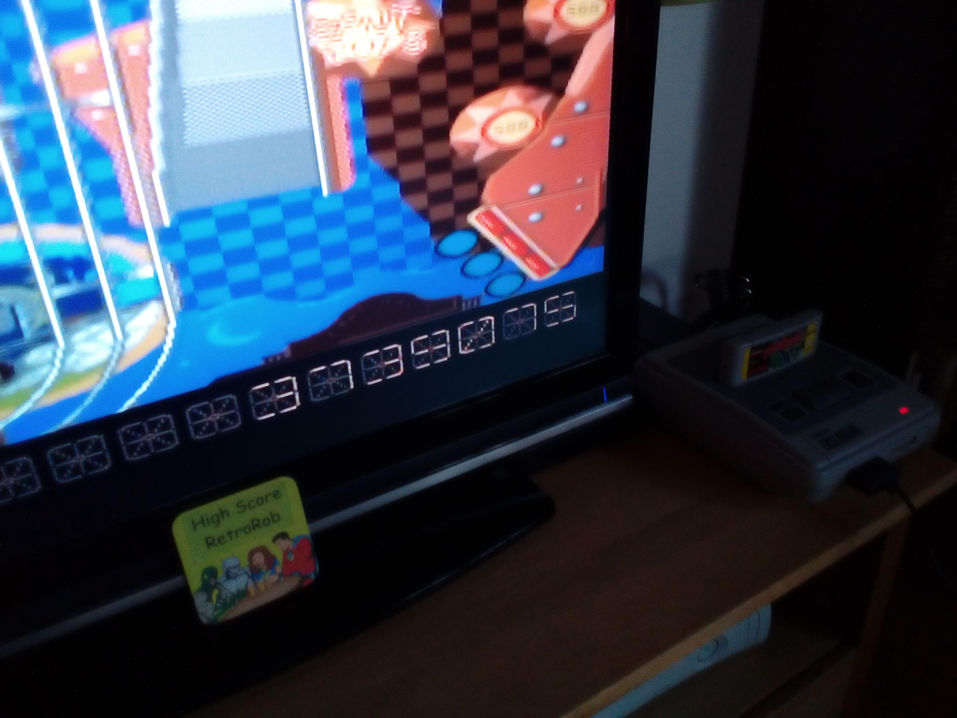 RetroRob: Pinball Dreams: Steel Wheel (SNES/Super Famicom) 3,739,075 points on 2018-05-07 13:52:39