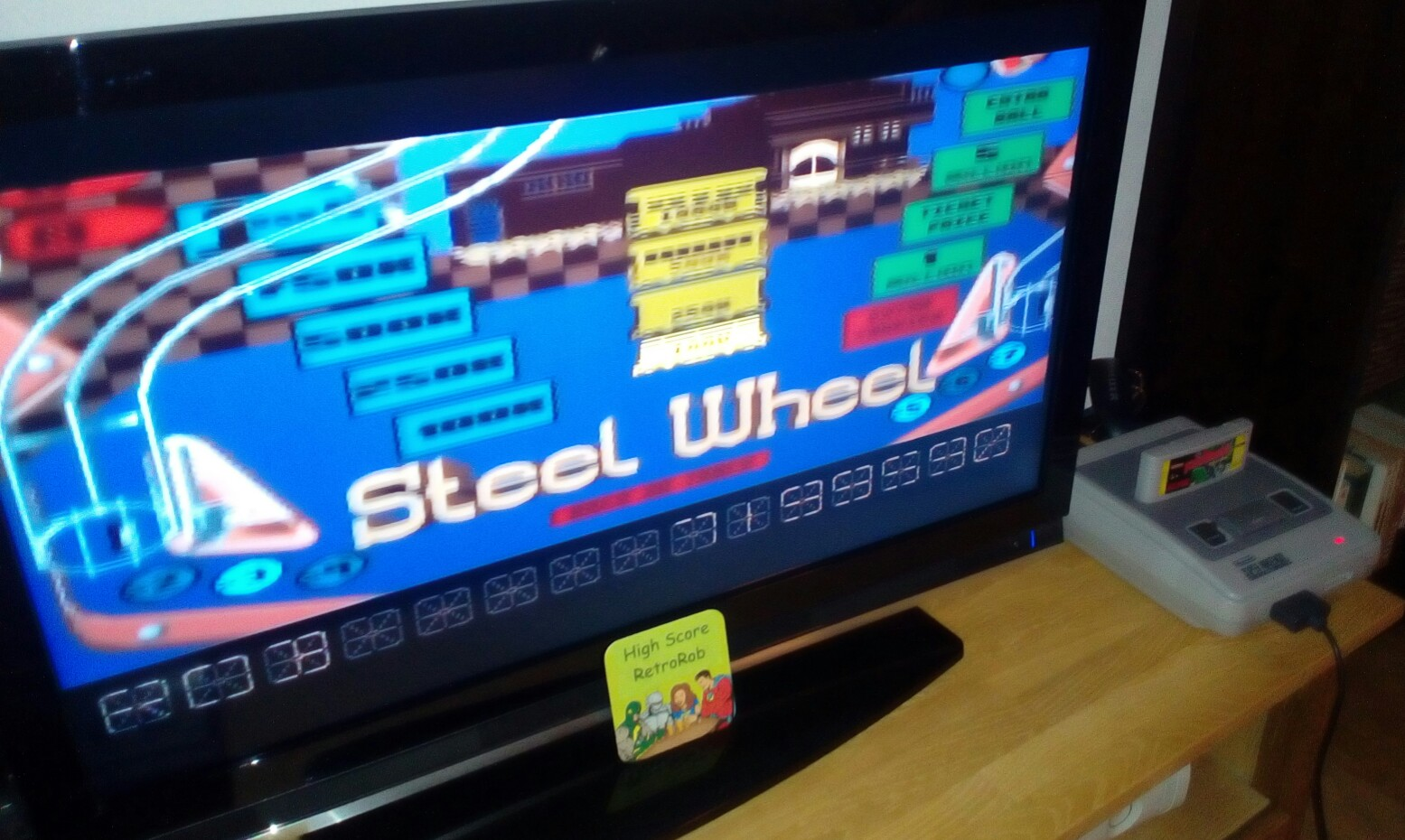 Pinball Dreams: Steel Wheel 7,199,590 points