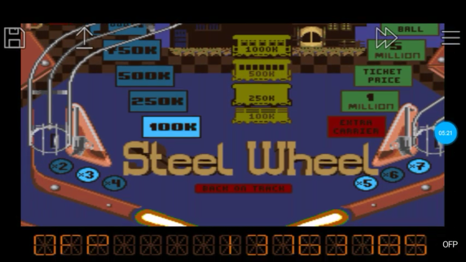 omargeddon: Pinball Dreams: Steel Wheel (SNES/Super Famicom Emulated) 13,763,785 points on 2018-06-24 23:47:35