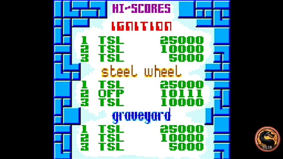 omargeddon: Pinball Dreams: Steel Wheel (Sega Game Gear Emulated) 10,111 points on 2019-11-17 19:40:23