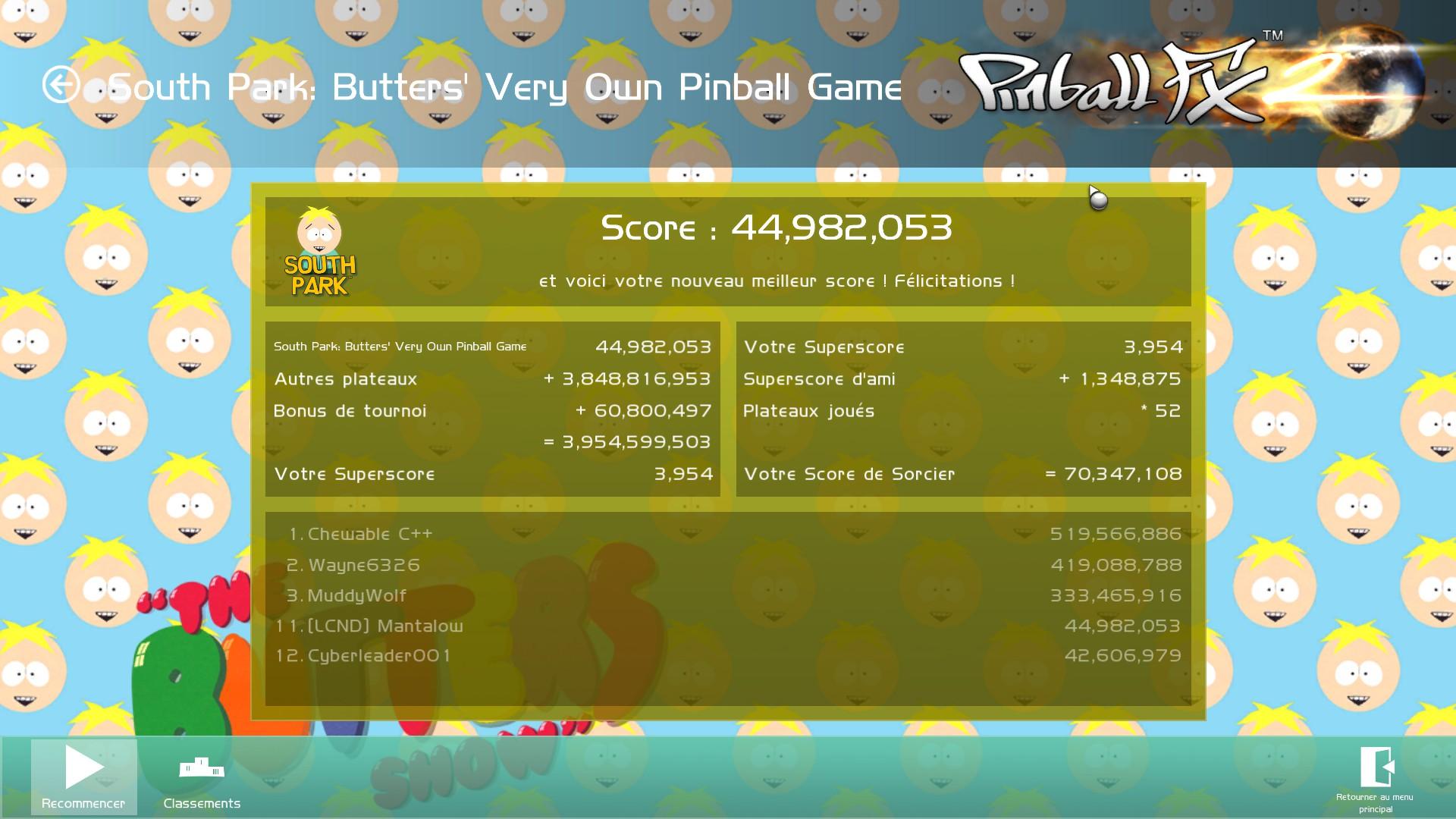 Mantalow: Pinball FX 2: Butters