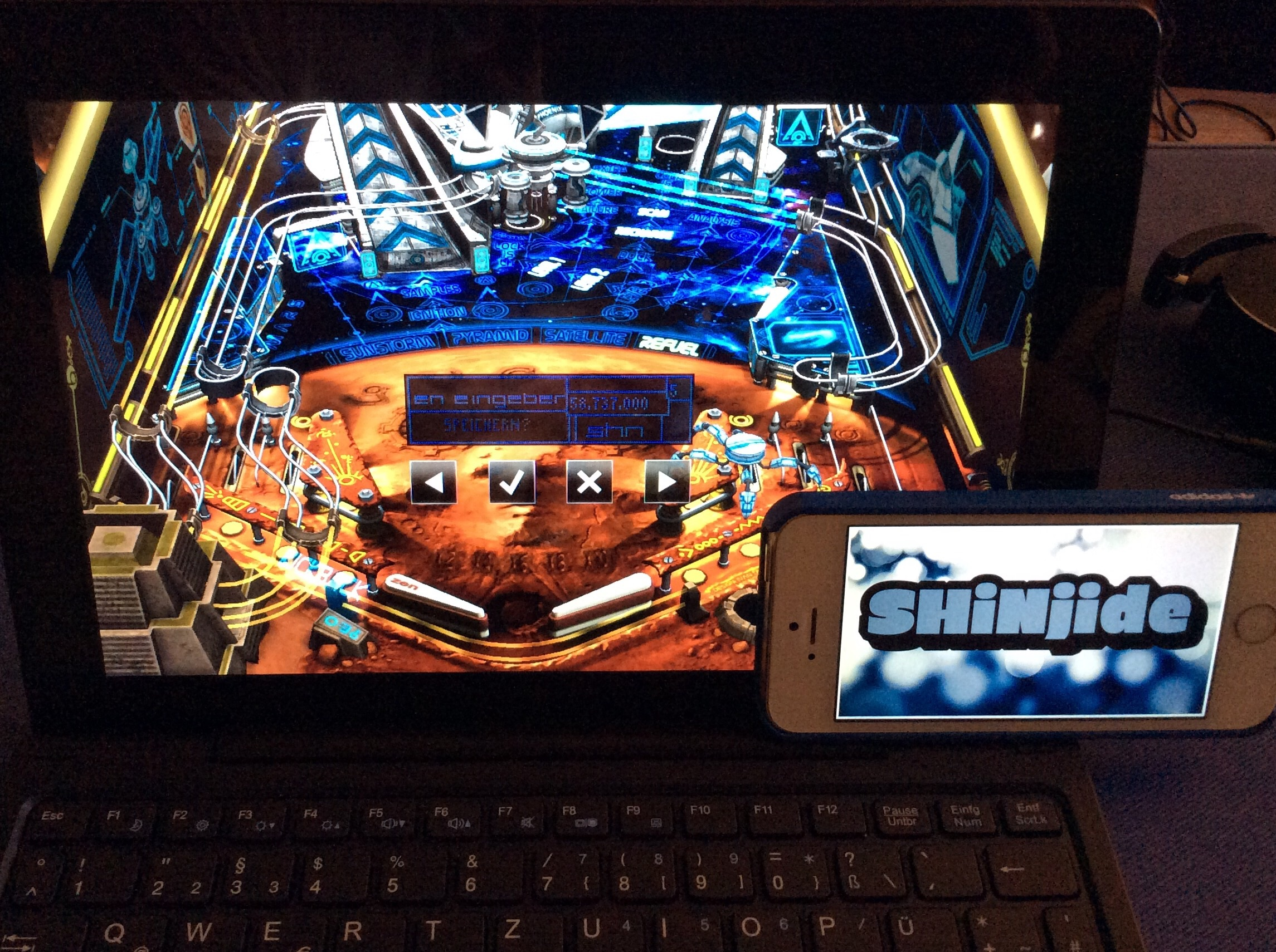 Pinball FX 2: Mars 58,737,000 points