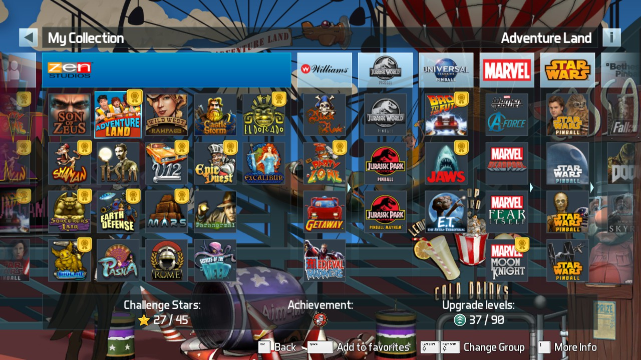 Mark: Pinball FX3: Adventure Land [Classic] (PC) 8,525,447 points on 2018-12-25 12:21:56