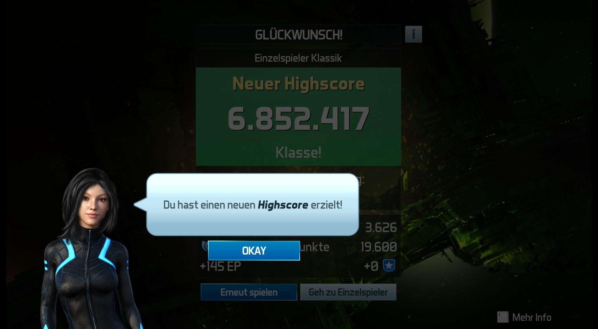 Pinball FX3: Alien: Isolation Pinball [Classic] 6,852,417 points