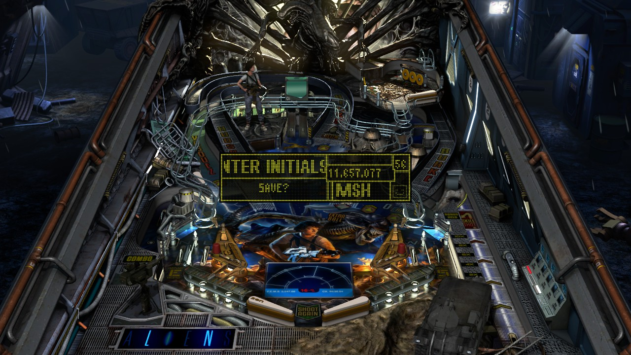 Mark: Pinball FX3: Aliens Pinball [Classic] (PC) 11,657,077 points on 2018-12-25 14:37:25