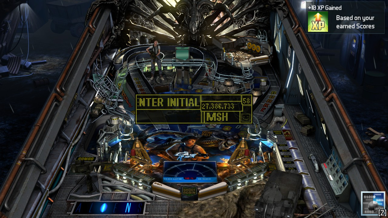 Mark: Pinball FX3: Aliens Pinball (PC) 27,386,733 points on 2018-12-15 01:19:03