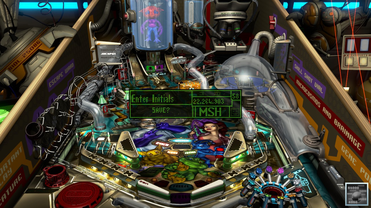 Mark: Pinball FX3: Biolab (PC) 22,264,903 points on 2018-12-28 01:48:18