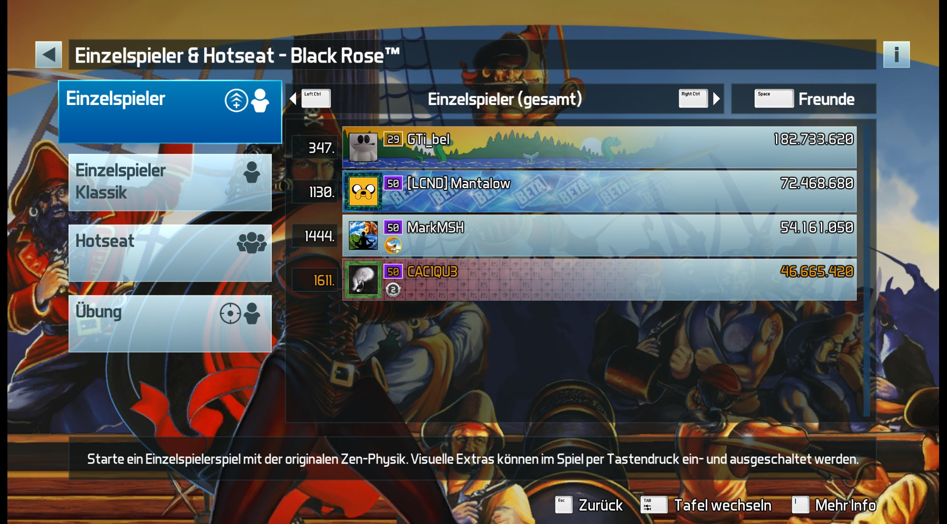 CAC1QU3: Pinball FX3: Black Rose [Standard] (PC) 46,665,420 points on 2019-04-25 10:21:17