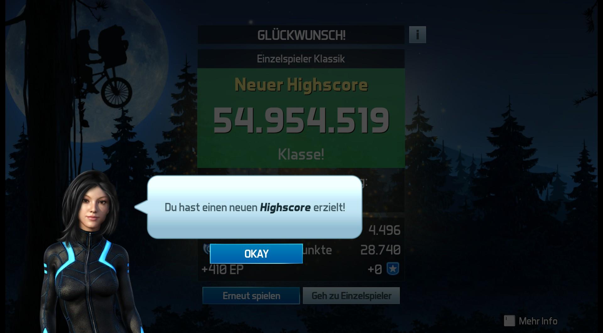 Pinball FX3: E.T. Pinball [Classic] 54,954,519 points