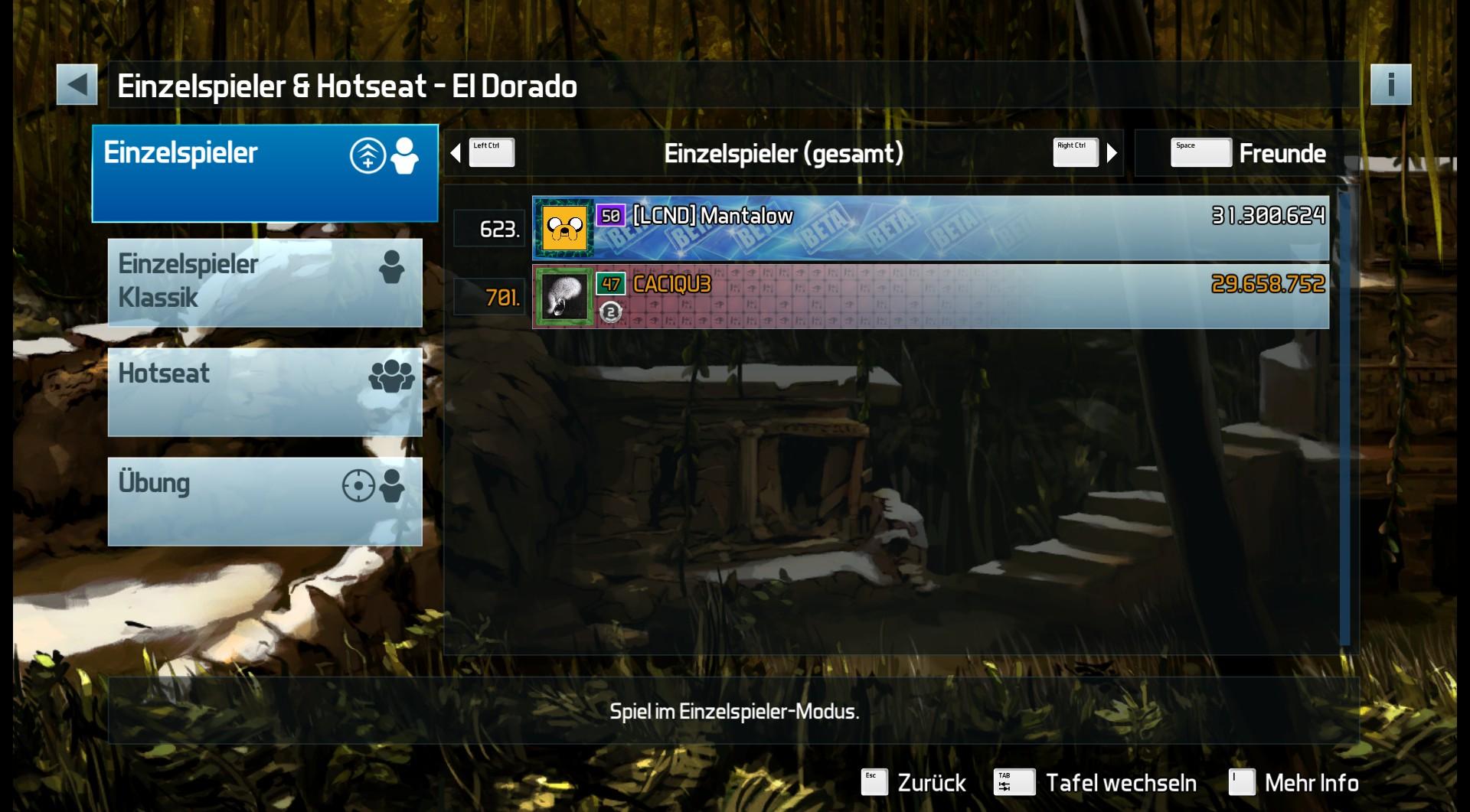 Pinball FX3: El Dorado 29,658,752 points