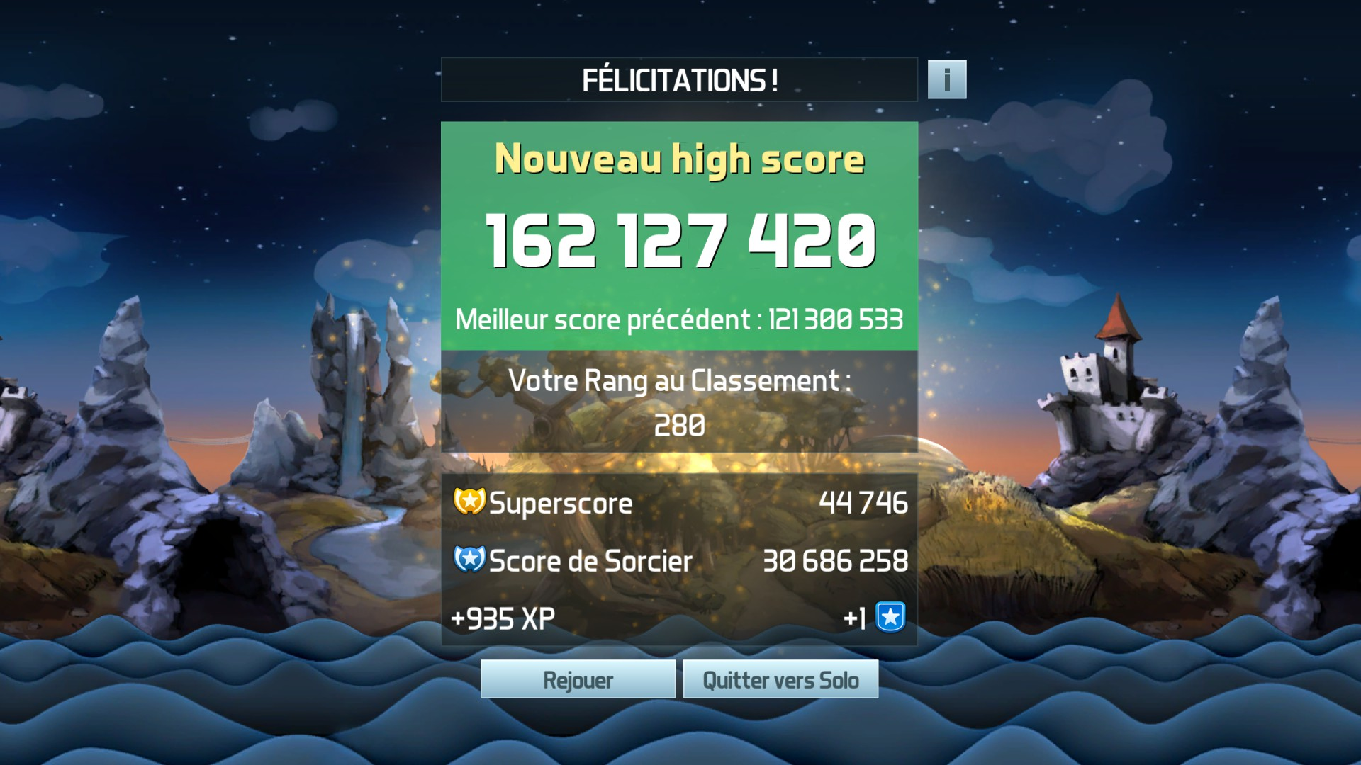 Mantalow: Pinball FX3: Epic Quest (PC) 162,127,420 points on 2018-01-17 04:32:24