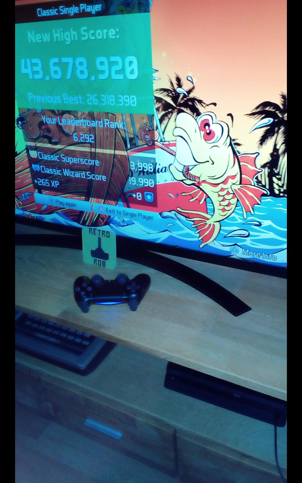 Pinball FX3: Fish Tales [Classic] 43,678,920 points