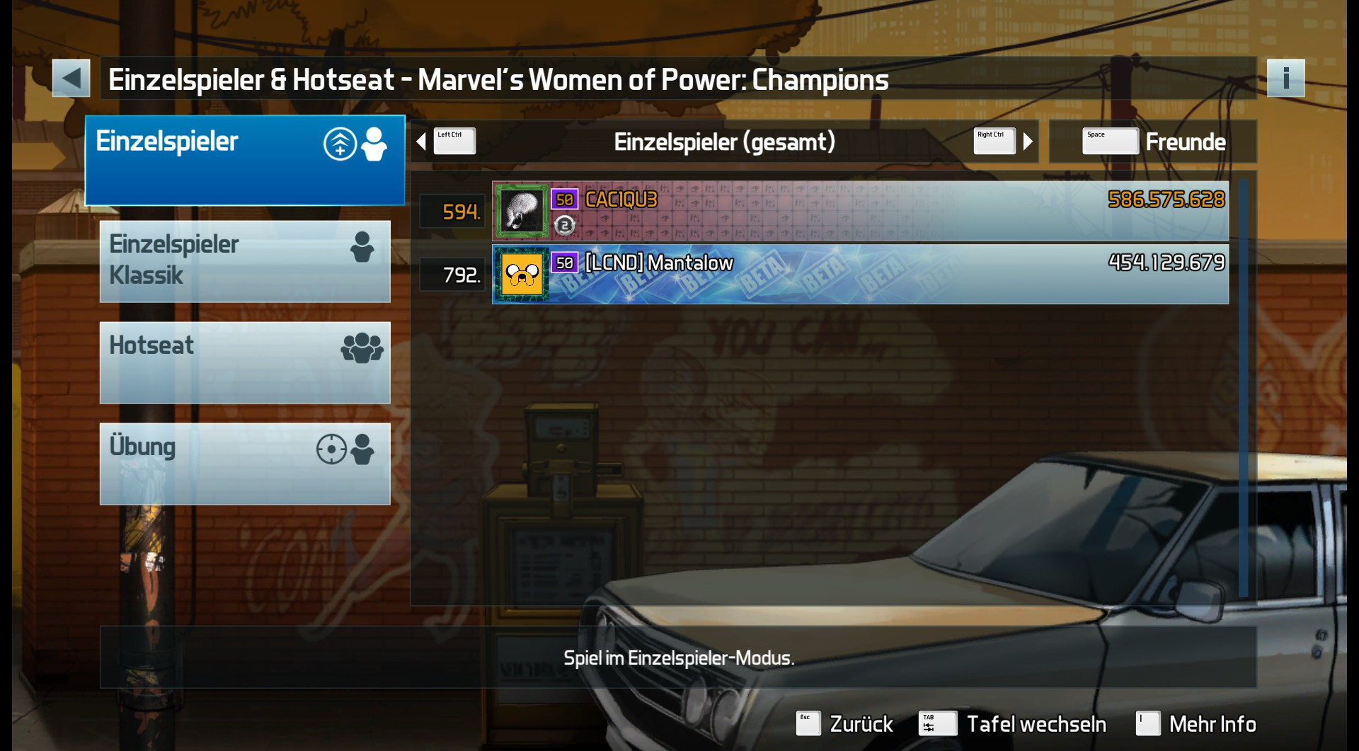 CAC1QU3: Pinball FX3: Marvel's Women of Power: Champions (PC) 586,575,628 points on 2019-04-11 22:07:45
