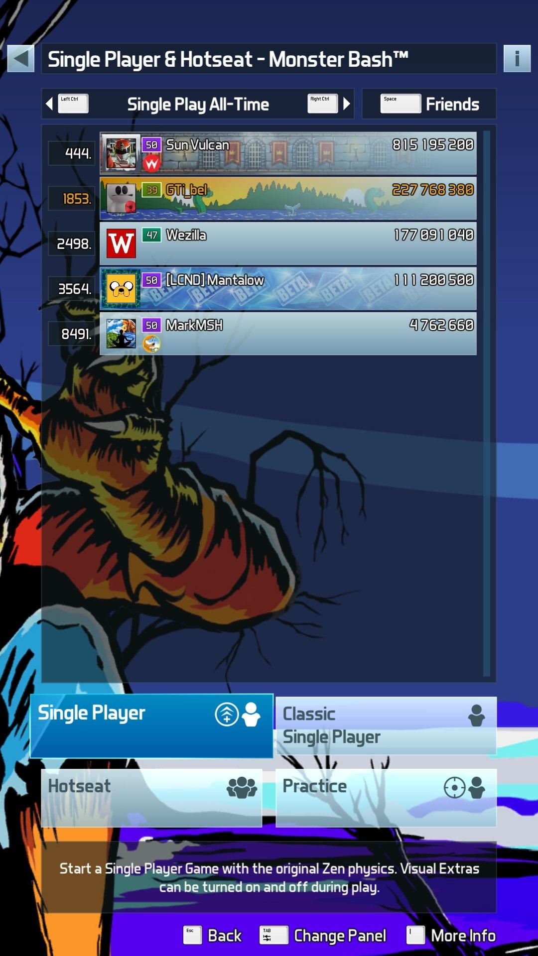 GTibel: Pinball FX3: Monster Bash [Standard] (PC) 227,768,380 points on 2020-01-15 06:17:04
