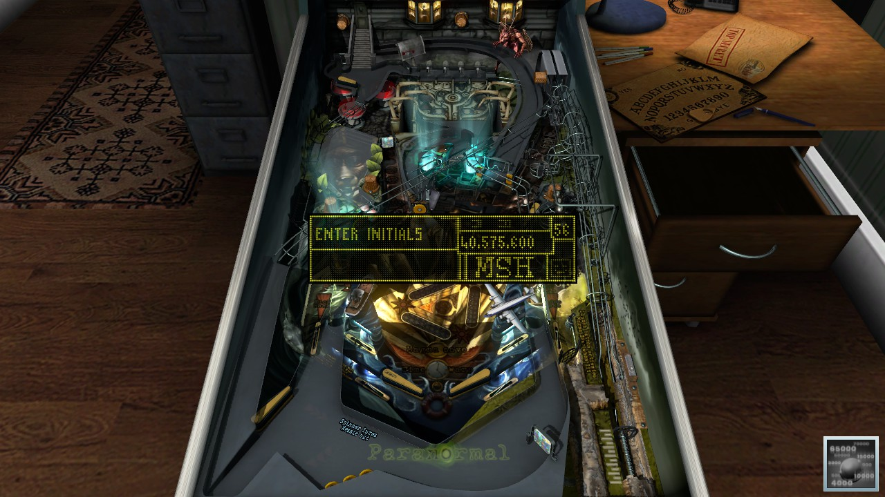 Mark: Pinball FX3: Paranormal (PC) 40,575,600 points on 2019-05-09 23:02:43