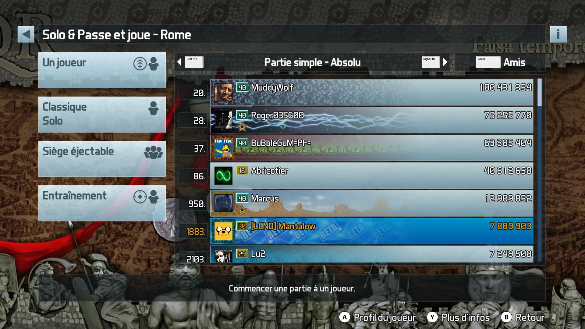 Pinball FX3: Rome 7,889,903 points