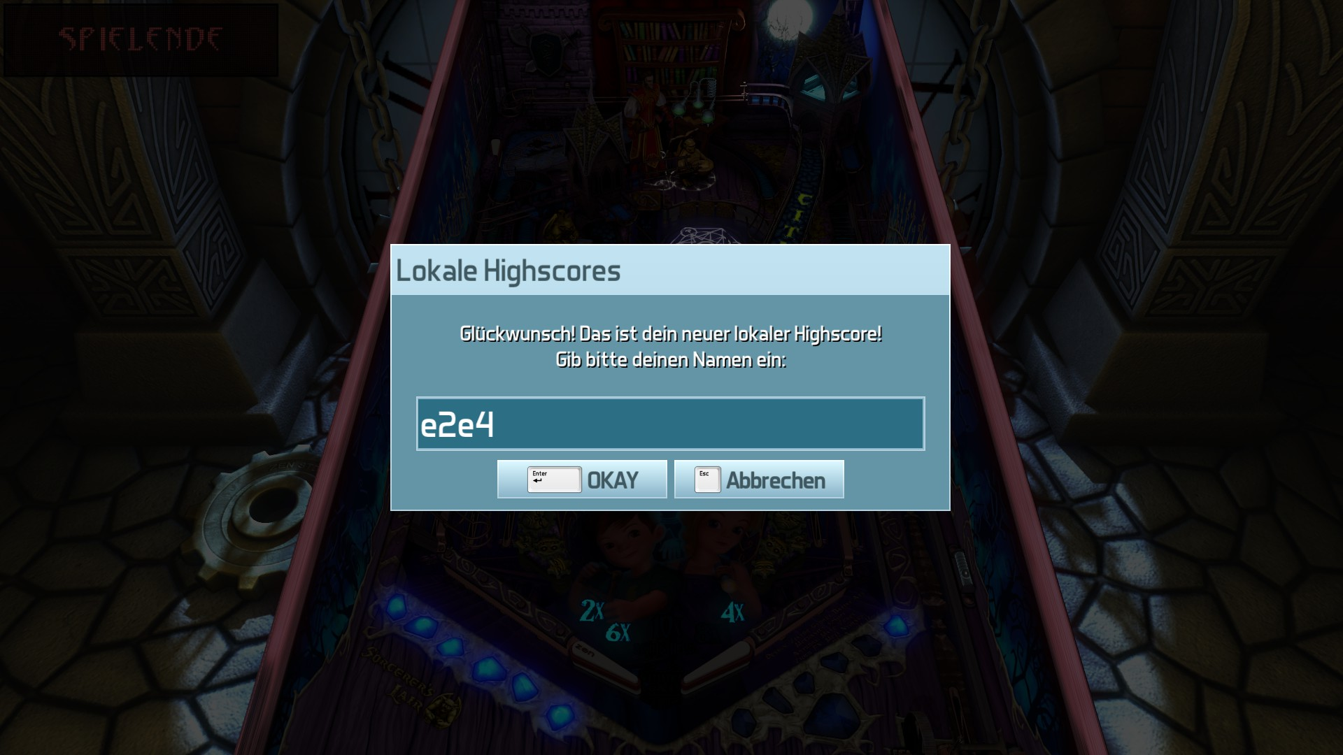 Pinball FX3: Sorcerer's Lair 334,982,162 points