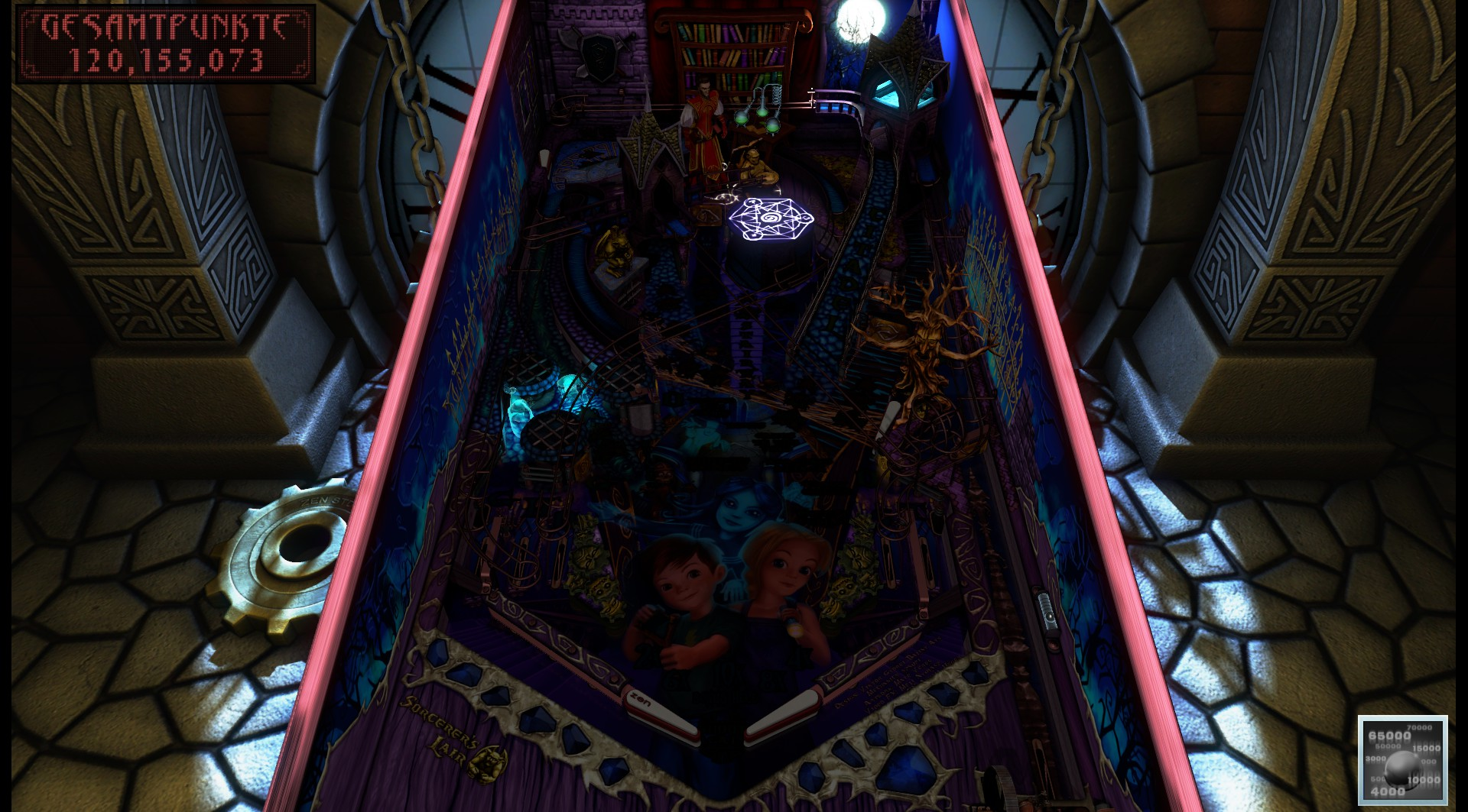 Pinball FX3: Sorcerer's Lair 120,155,073 points