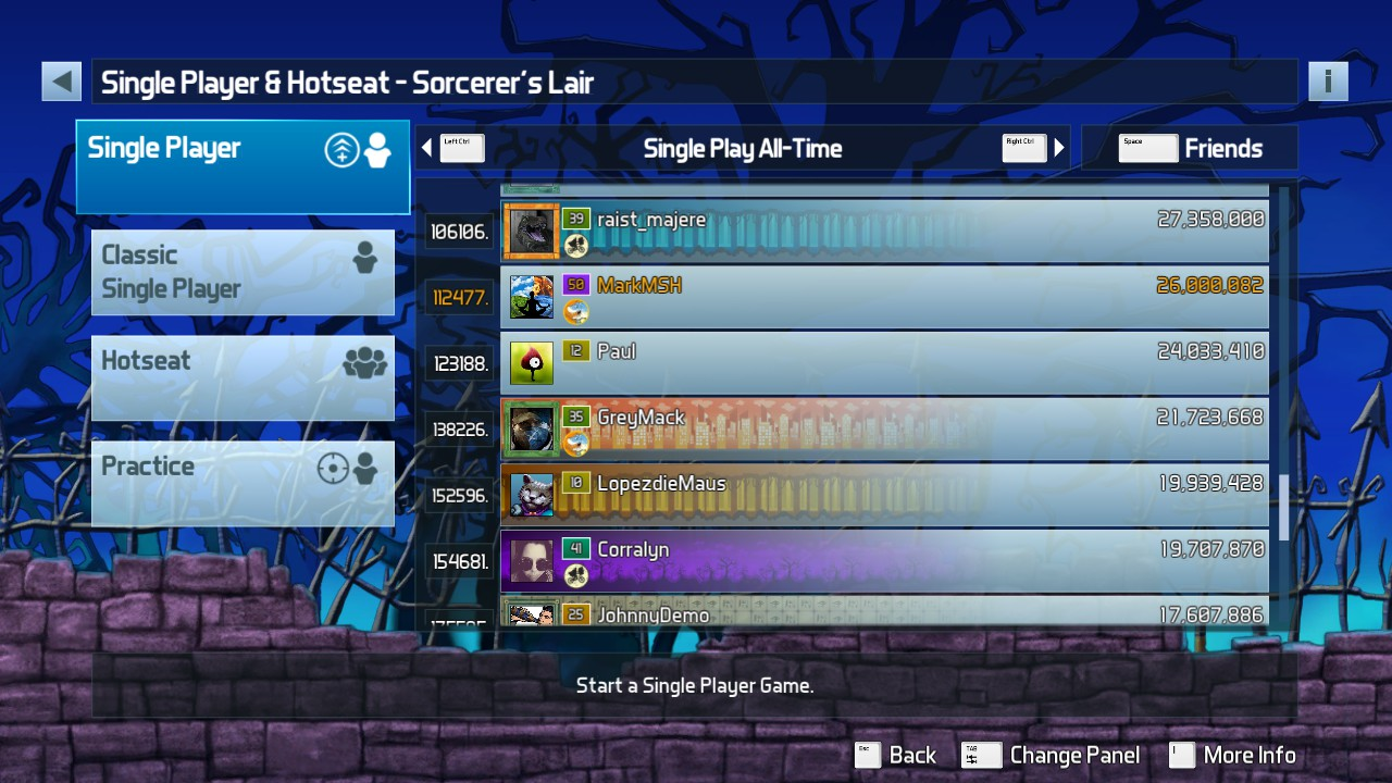 Pinball FX3: Sorcerer's Lair 26,000,082 points