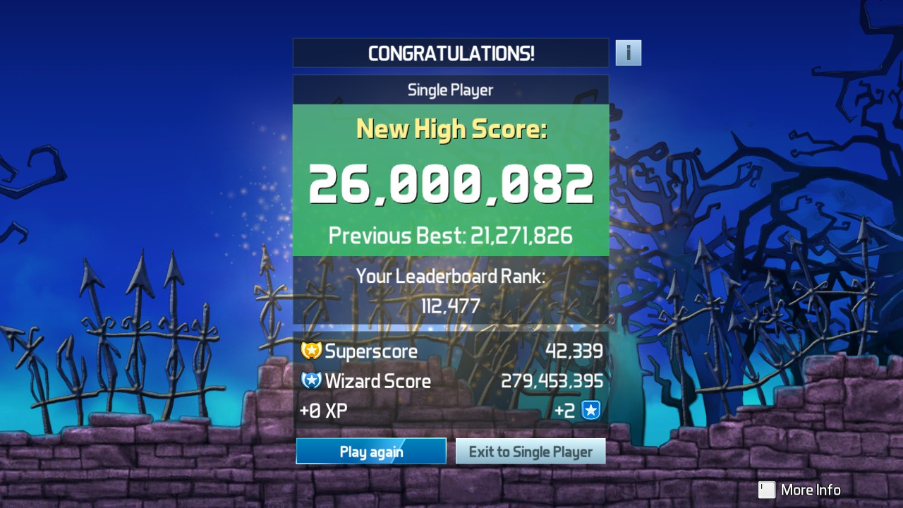 Mark: Pinball FX3: Sorcerer's Lair (PC) 26,000,082 points on 2019-05-07 03:22:07
