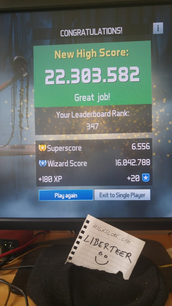 liberteer: Pinball FX3: Star Wars Pinball: Episode V The Empire Strikes Back (PC) 22,303,582 points on 2018-04-16 07:03:02