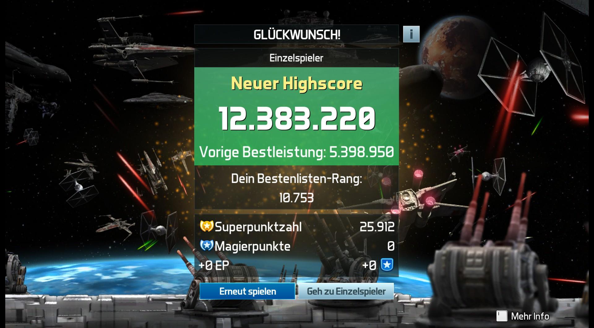 CAC1QU3: Pinball FX3: Star Wars Pinball: Starfighter Assault (PC) 12,383,220 points on 2019-04-18 17:43:27