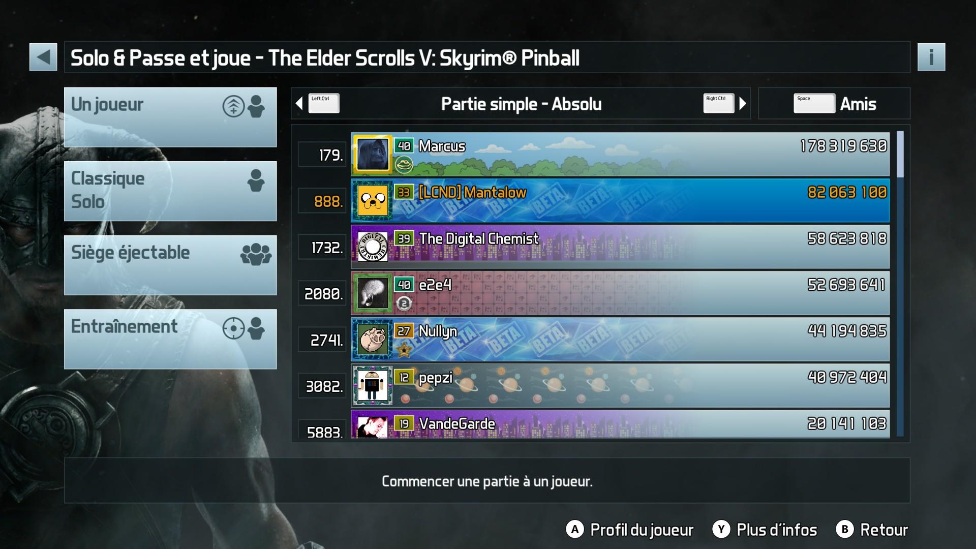 Mantalow: Pinball FX3: The Elder Scrolls V: Skyrim Pinball (PC) 82,063,100 points on 2018-01-16 13:02:39