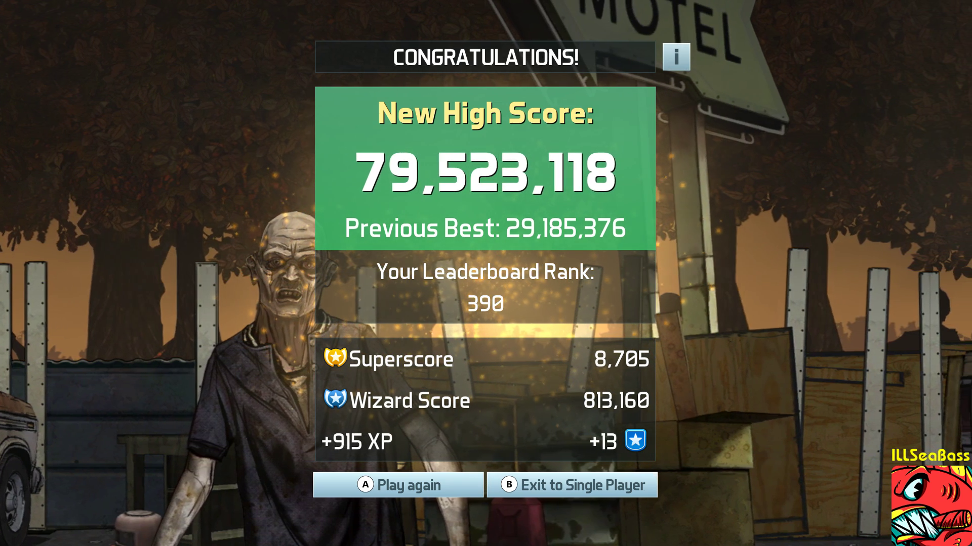 ILLSeaBass: Pinball FX3: The Walking Dead Pinball (PC) 79,523,118 points on 2017-12-28 16:49:00