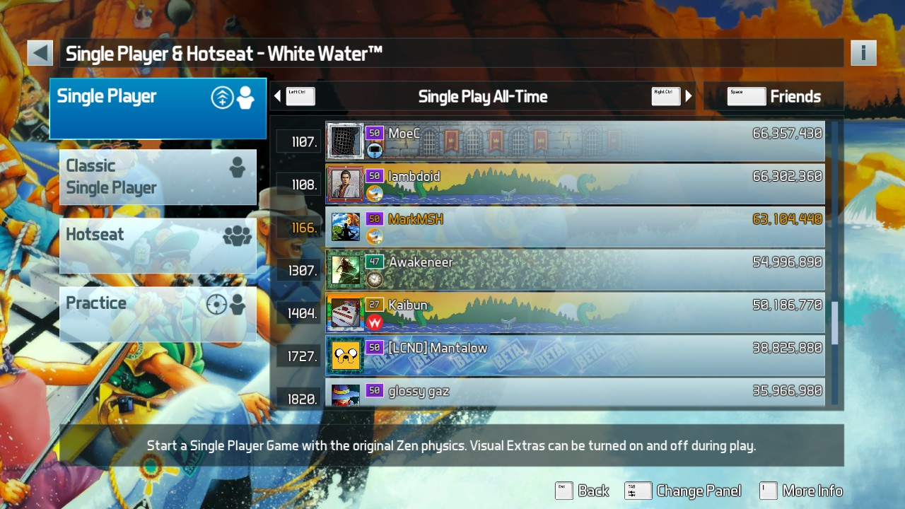 Mark: Pinball FX3: White Water [Standard] (PC) 64,104,440 points on 2019-06-10 02:00:11