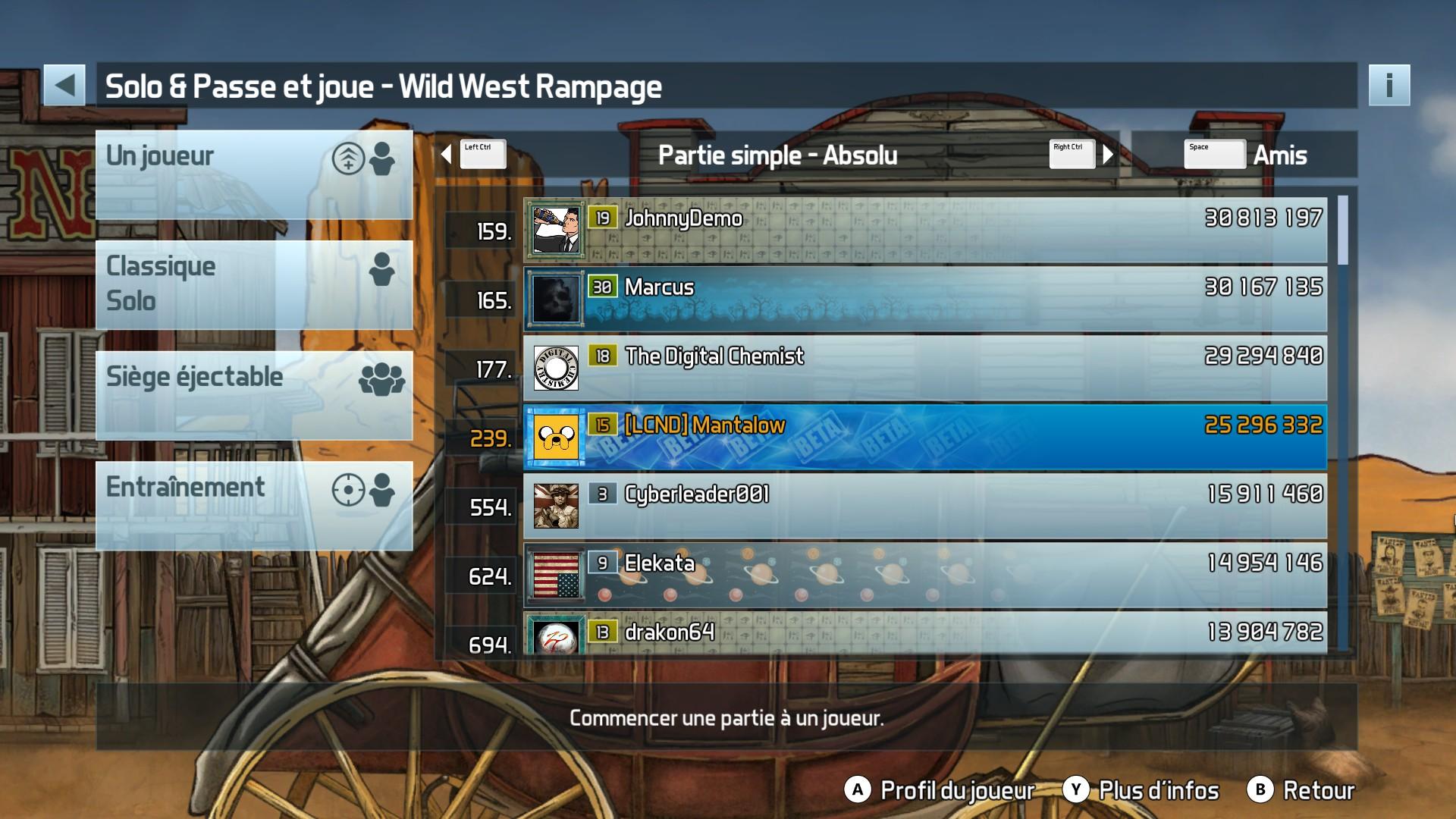 Pinball FX3: Wild West Rampage 25,296,332 points