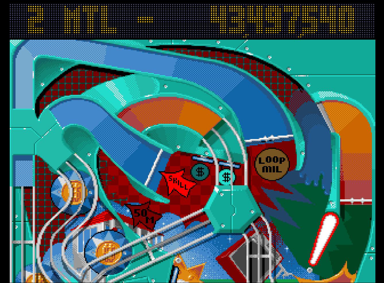 Mantalow: Pinball Fantasies: Billion Dollar Gameshow (Amiga Emulated) 43,497,540 points on 2016-09-21 06:27:10