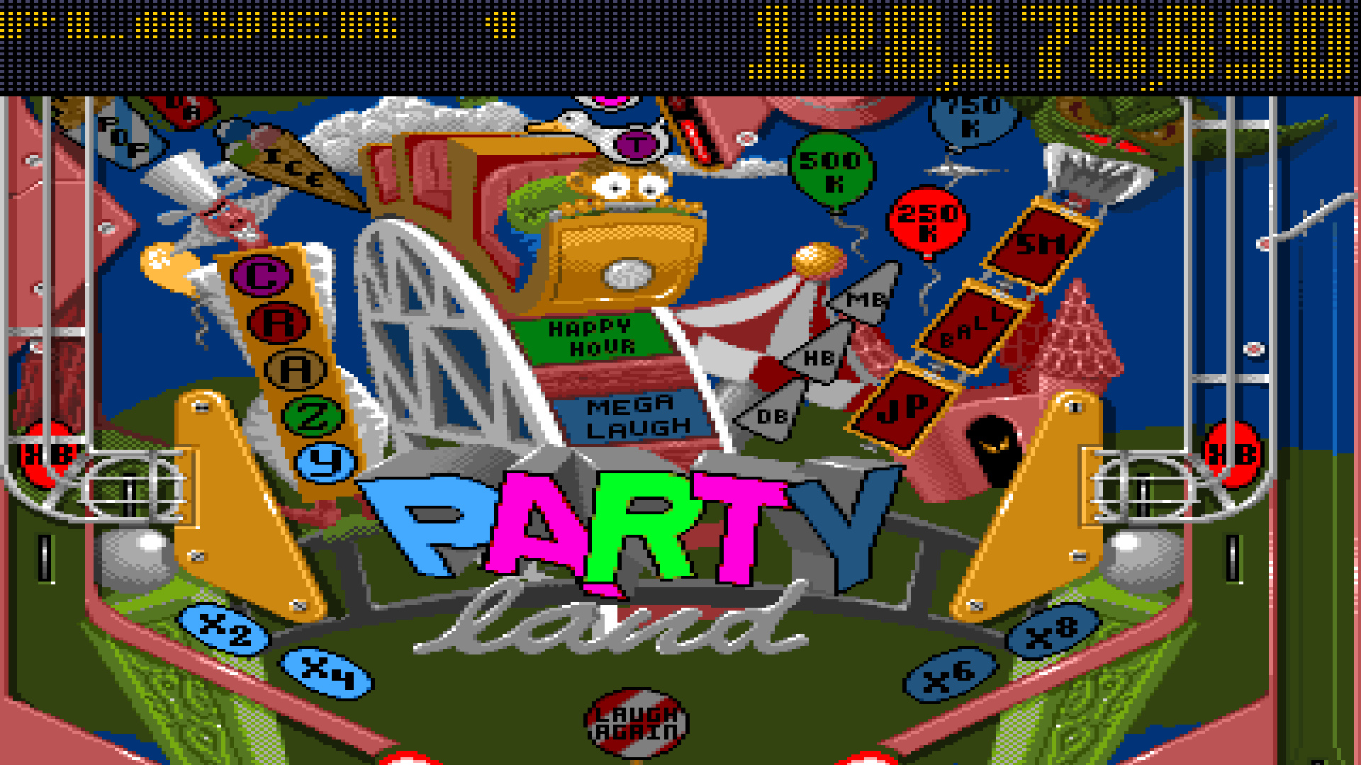 TheTrickster: Pinball Fantasies: Party Land (Amiga Emulated) 128,178,890 points on 2015-07-12 01:43:04