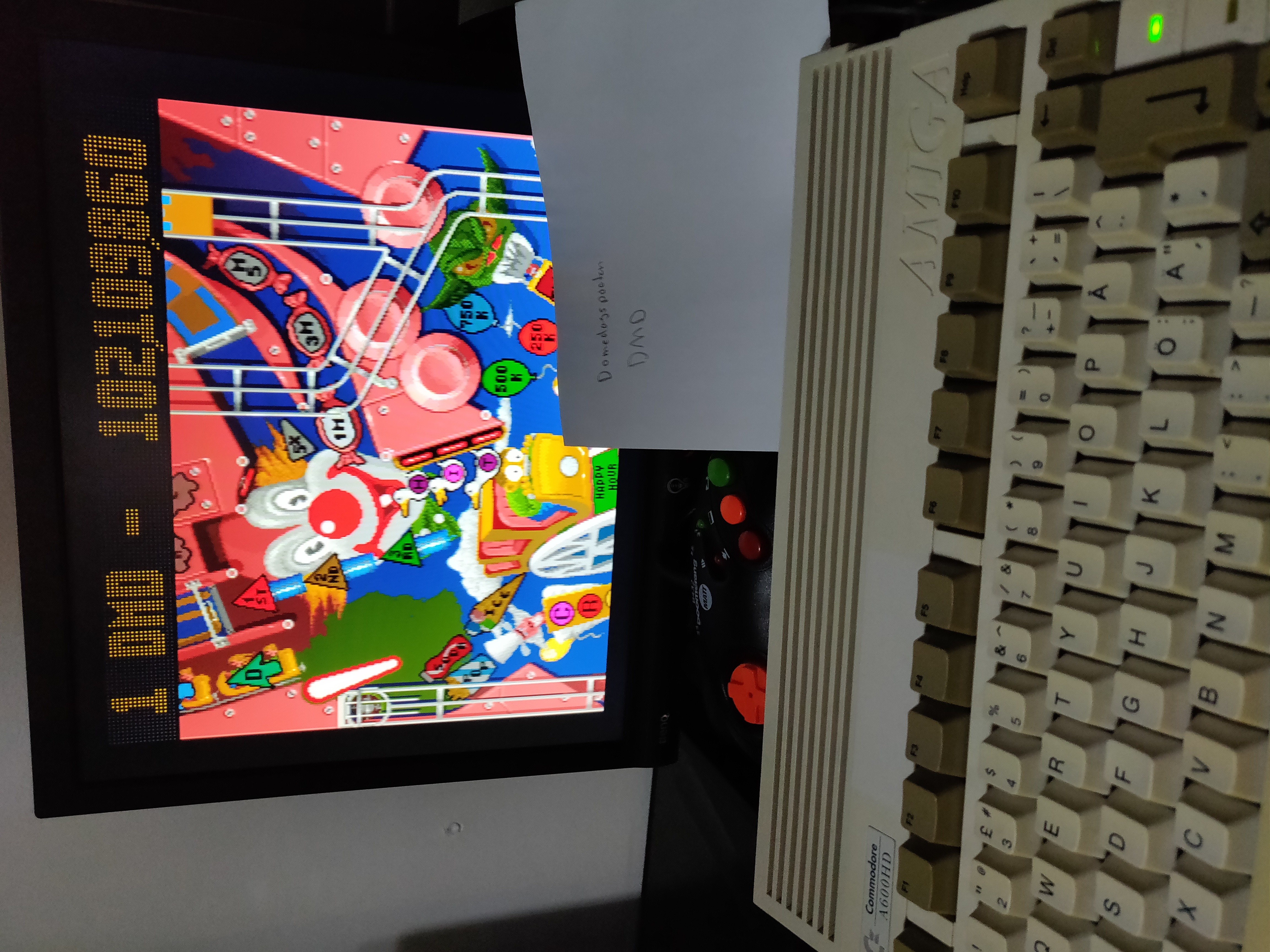 Domedagspoeten: Pinball Fantasies: Party Land (Amiga) 102,109,860 points on 2019-02-20 12:07:44