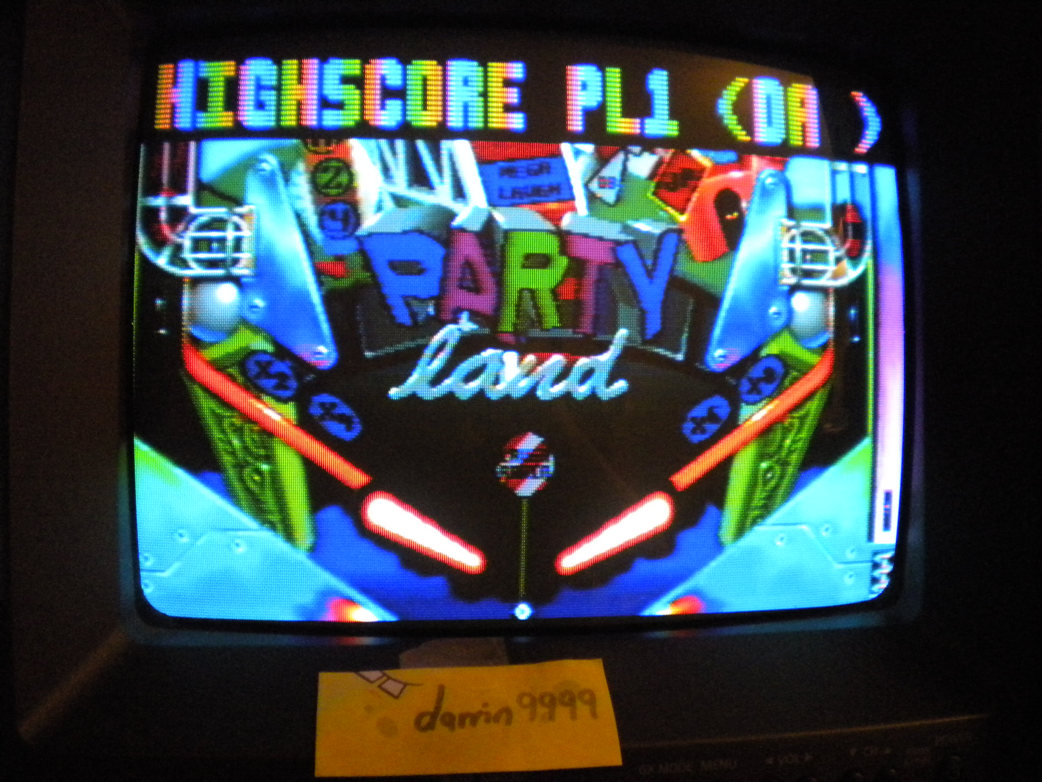 darrin9999: Pinball Fantasies: Party Land (Atari Jaguar) 11,019,900 points on 2016-11-26 17:20:47