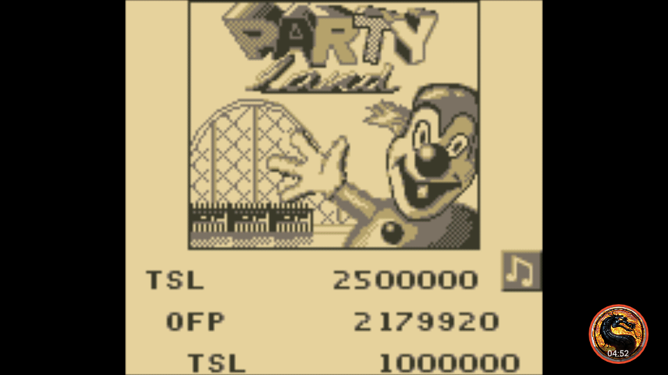 omargeddon: Pinball Fantasies: Party Land (Game Boy Emulated) 2,179,920 points on 2019-11-24 23:00:50