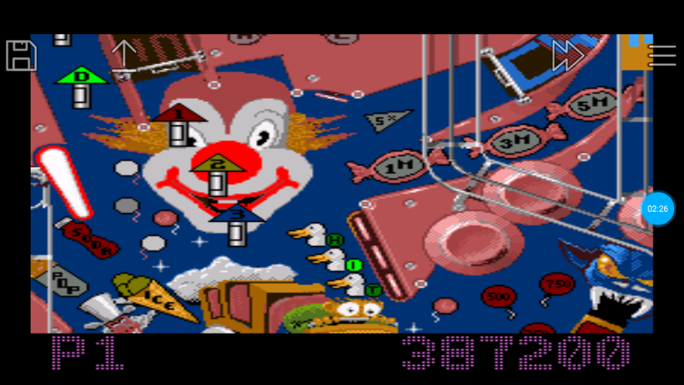 omargeddon: Pinball Fantasies: Party land (SNES/Super Famicom Emulated) 387,200 points on 2018-07-14 21:40:03