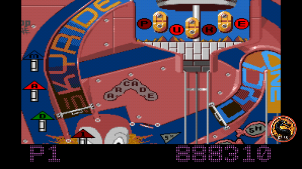 Pinball Fantasies: Party land 888,310 points