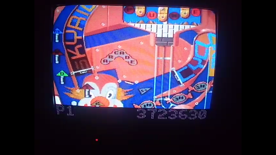 omargeddon: Pinball Fantasies: Party land (SNES/Super Famicom) 3,723,630 points on 2020-04-03 21:11:43