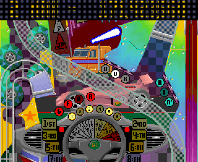 Maxwel: Pinball Fantasies: Speed Devils (Amiga Emulated) 171,423,560 points on 2018-07-14 12:27:53