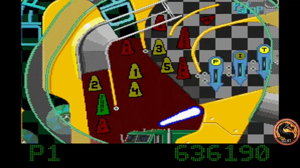 Pinball Fantasies: Speed Devils 636,190 points