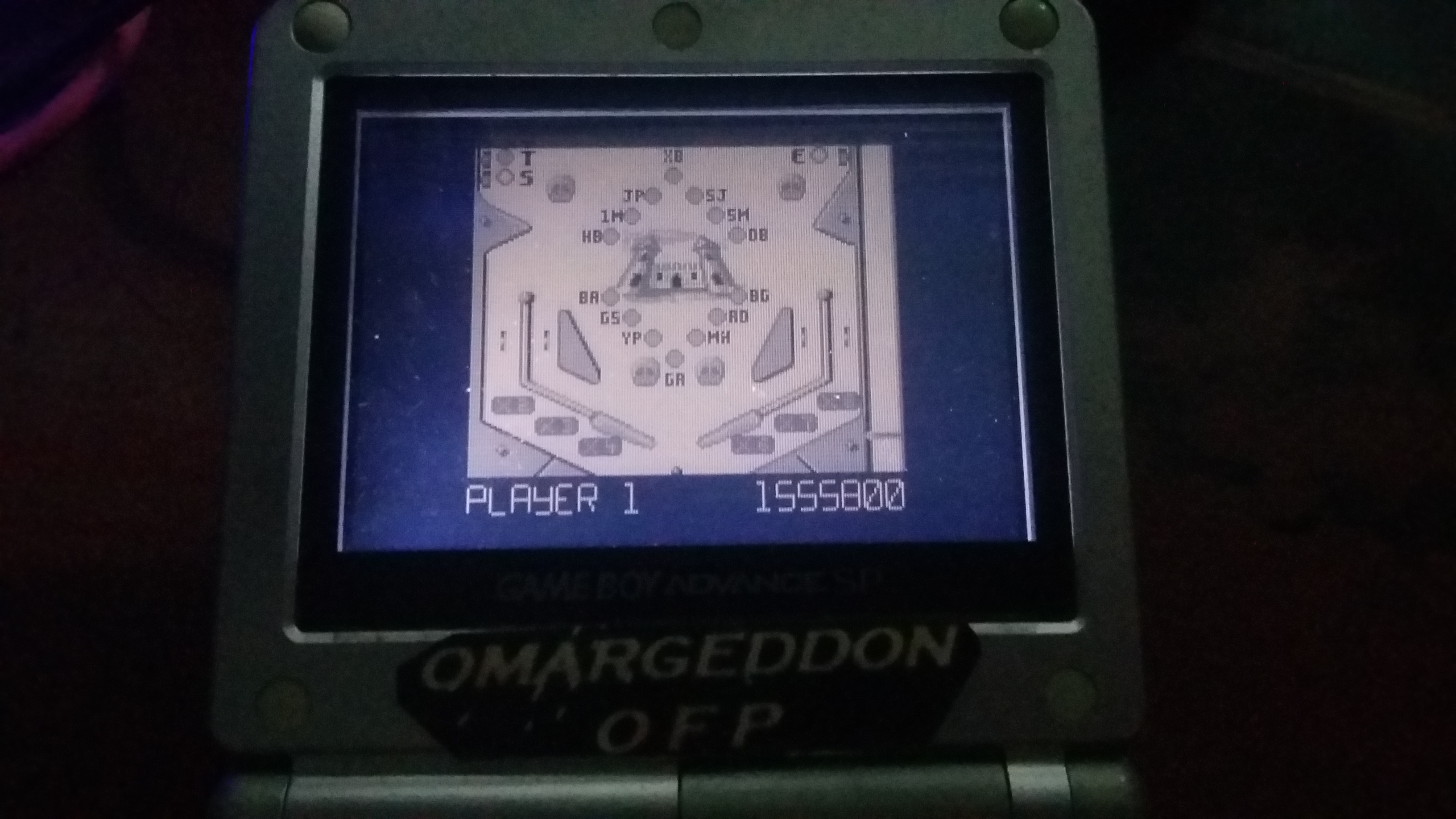 omargeddon: Pinball Fantasies: Stones N Bones (Game Boy) 1,555,800 points on 2018-10-25 03:11:00