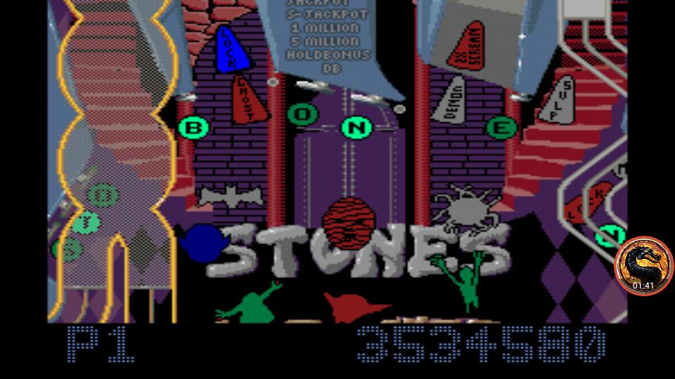 Pinball Fantasies: Stones N Bones 3,534,580 points