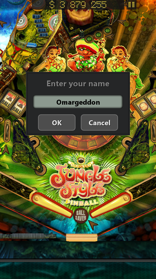 omargeddon: Pinball Fantasy: Jungle Style (Android) 3,879,255 points on 2018-05-20 15:19:56