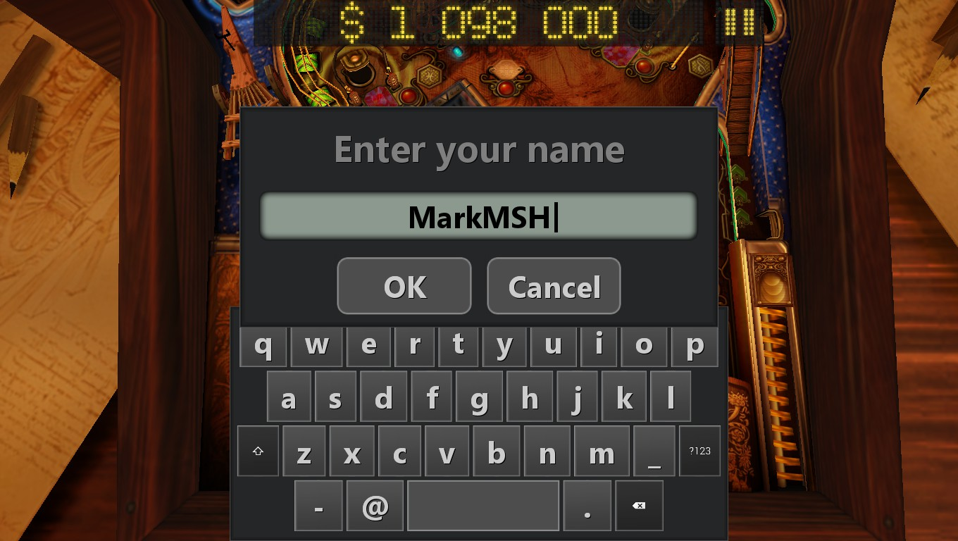 Mark: Pinball HD Collection: Da Vinci (PC) 1,098,000 points on 2018-09-24 15:25:55